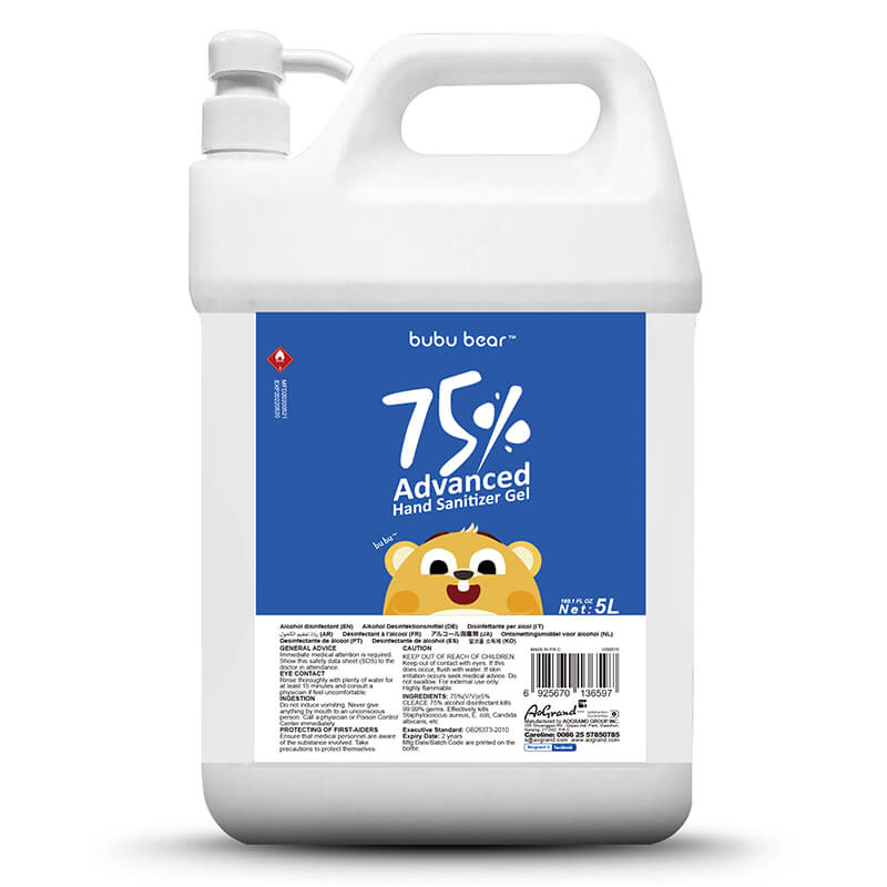 75% Alcohol Disinfectant Spray BuBuBear