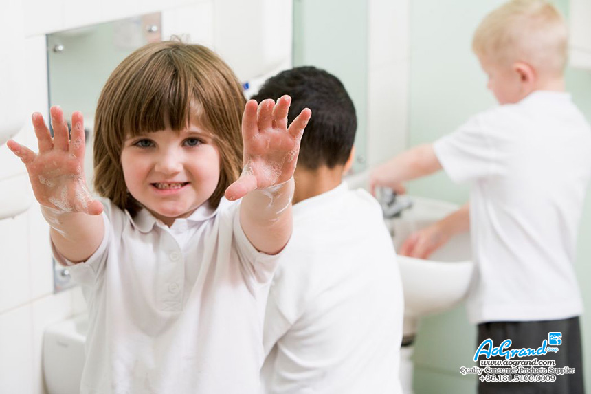 Choose Proper Hand Washing Liquid for Your Kids